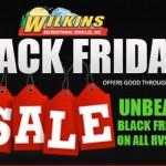 Wilkins Black Friday Sale