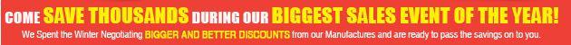 bigger discounts