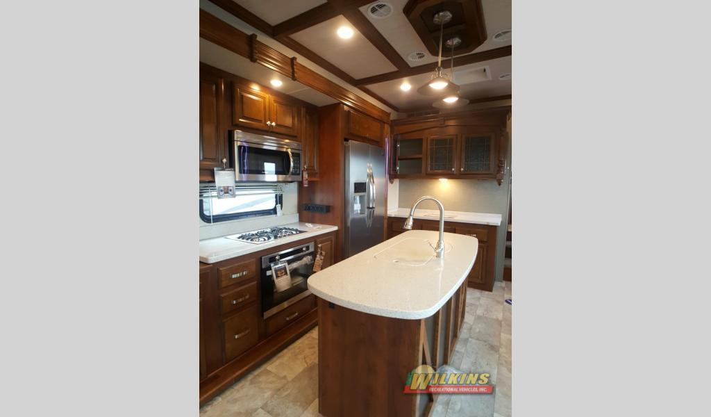 Heartland Bighorn Fifth Wheel Kitchen