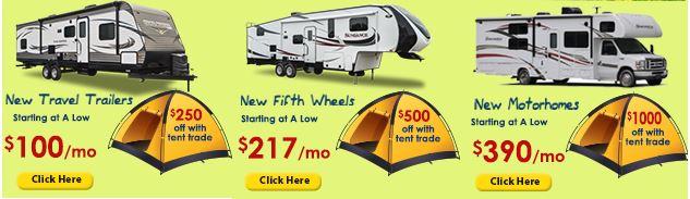 Wilkins RV Tent Sale
