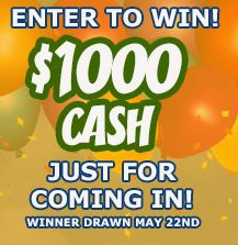 Grand Opening Wilkins RV Cash Prize