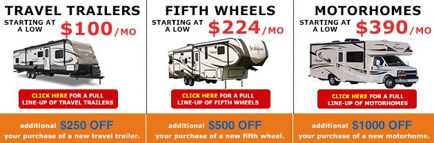 Grand Opening Wilkins RV Payments