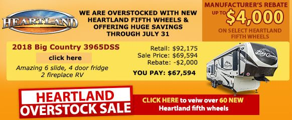 Wilkins Summer Sale Heartland RVs