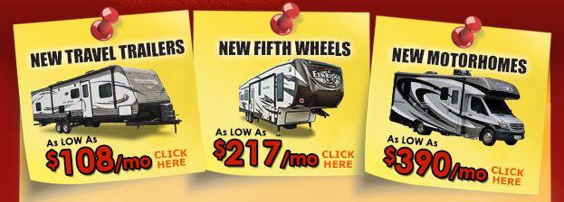 Wilkins Summer Sale RVs