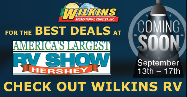 Wilkins RV Hershey Show
