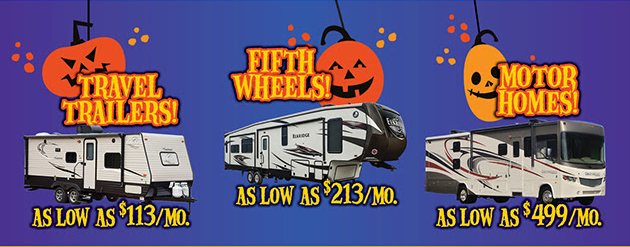 Wilkins RV Halloween Sale