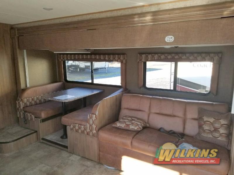 Coachmen Freelander Class C Motorhome Seating