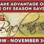 Wilkins RV Fall Sale