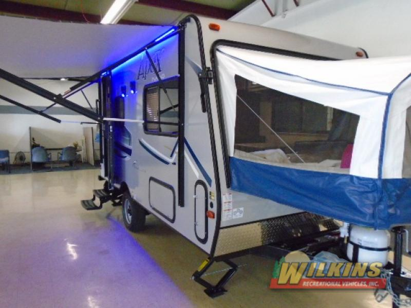 Coachmen Apex Nano 15X Expandable Travel Trailer Hybrid Camper