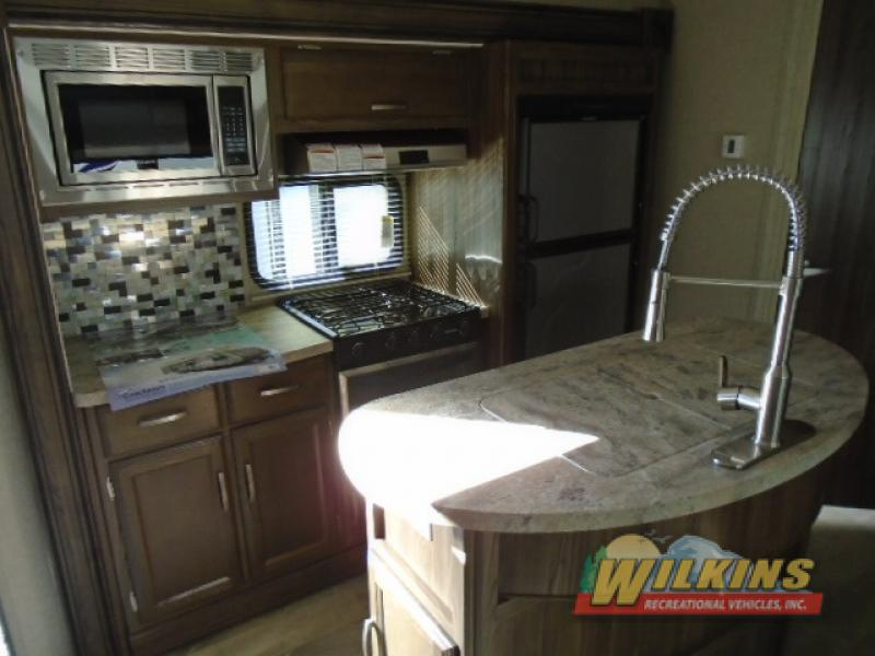 Coachmen Apex Ultra-Lite Travel Trailer Kitchen