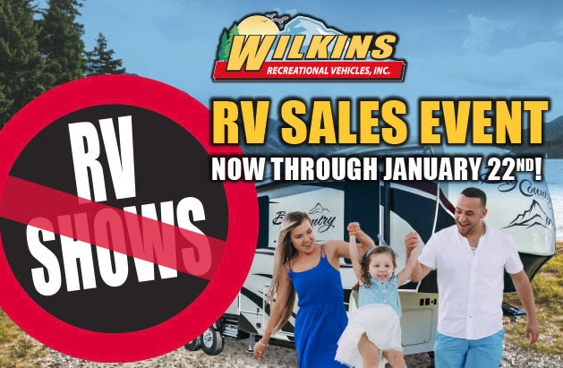 Wilkins RV No Show Sale