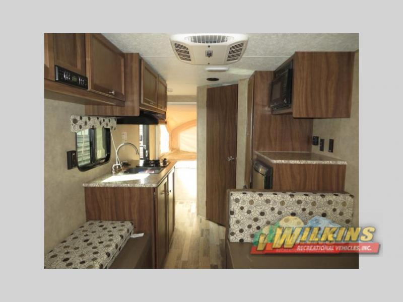 Coachmen Clipper Expandable Hybrid Camper RV Travel Trailer INterior