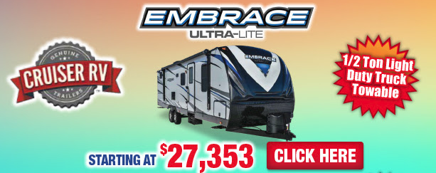 Wilkins RV Spring Open House 2018 Cruiser Embrace