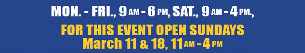 Wilkins RV Spring Open House 2018 Hours