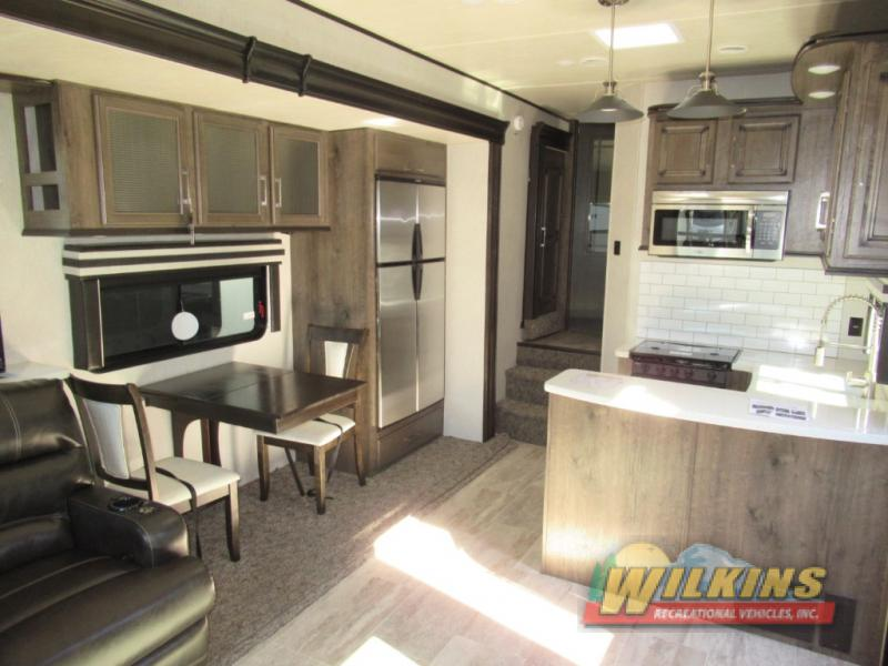 Heartland Gateway Fifth Wheel Kitchen