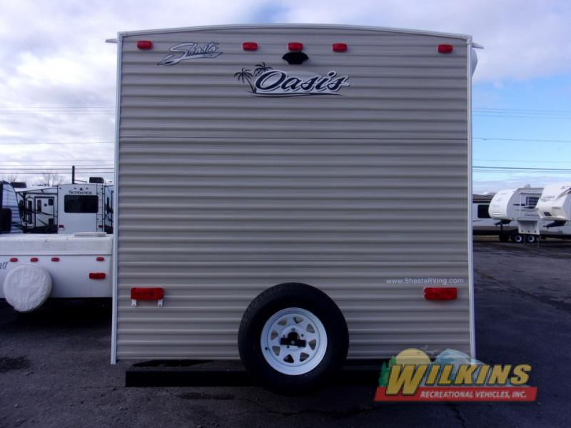 Shasta Oasis Travel Trailer Rear