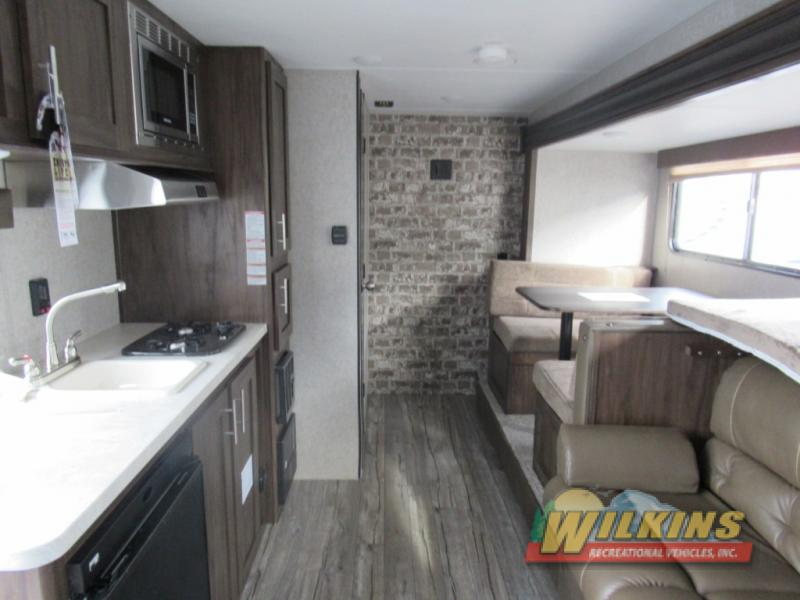 Cherokee Wolf Pup Travel Trailer Interior
