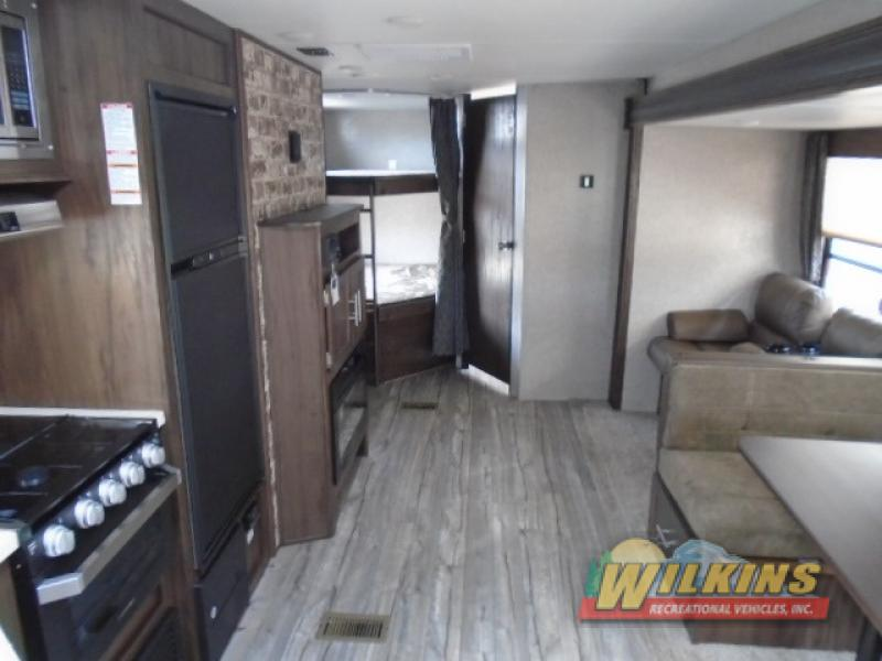Forest River Cherokee Travel Trailer Bunkhouse