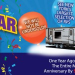 Wilkins RV Victor Syracuse One Year Anniversary Sale