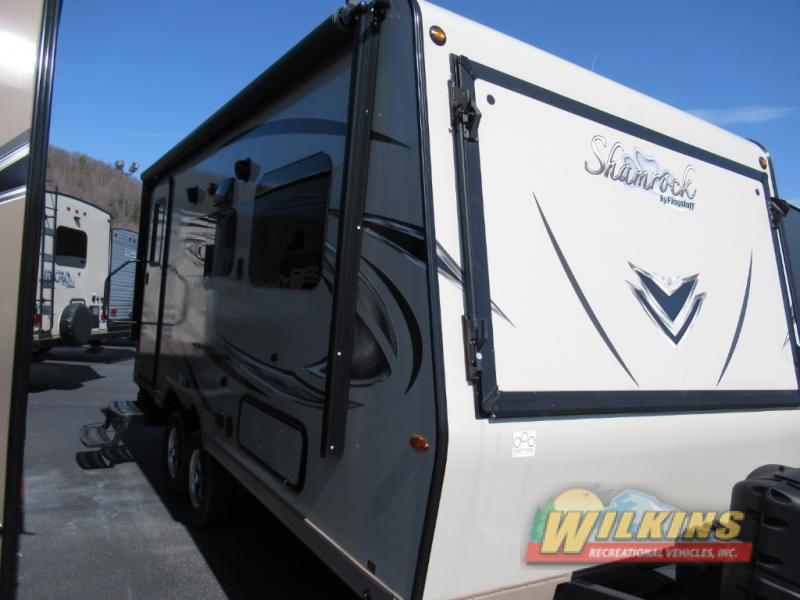 Forest River Flagstaff Shamrock Expandable Hybrid Camper
