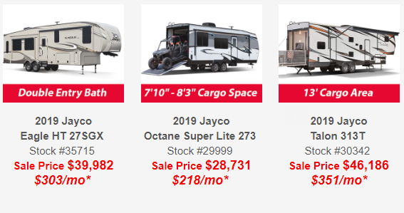 Jayco Sales New York Dealer Wilkins RV Jayco Fifth Wheel Models