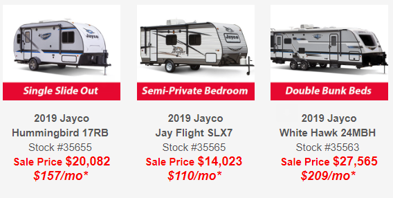 Jayco Sales New York Dealer Wilkins RV Jayco Prices