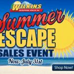 Wilkins RV Summer RV Sales Event