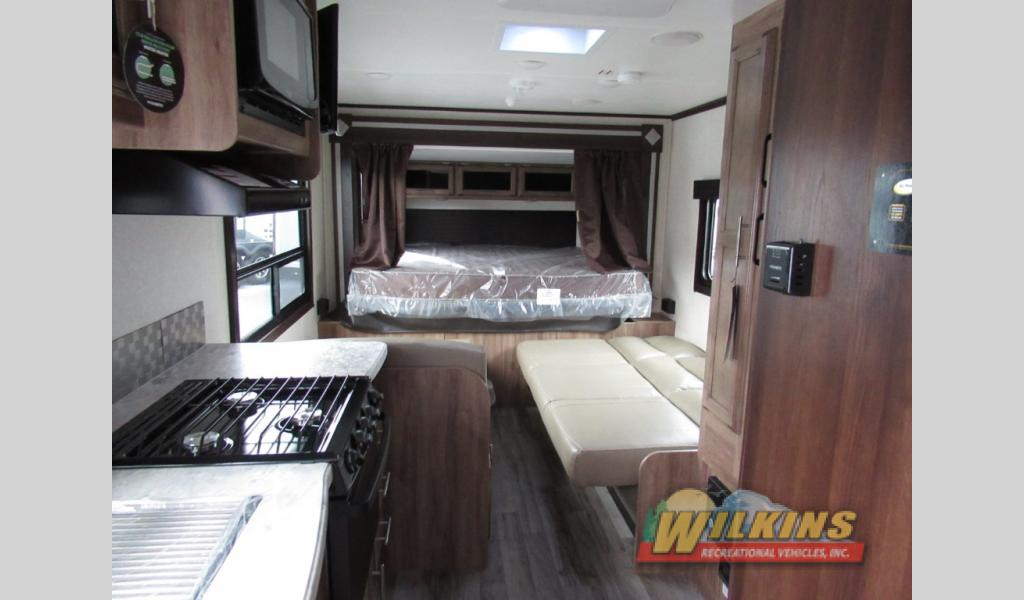Jayco Jay Feather Review Wilkins RV Rear Slide Interior