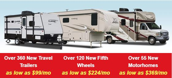 Pre-Season RV Sale Wilkins RV RV Payments