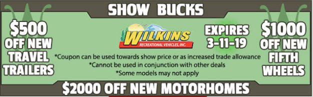 Show Coupon Wilkins