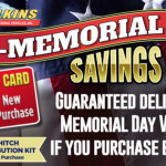 Pre-Memorial Savings RV Sale