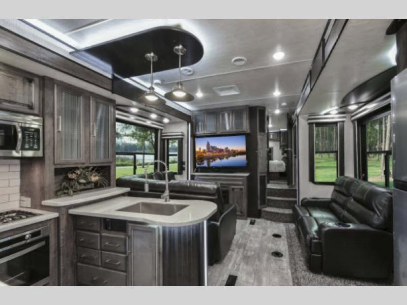 Heartland Cyclone Fifth Wheel interior