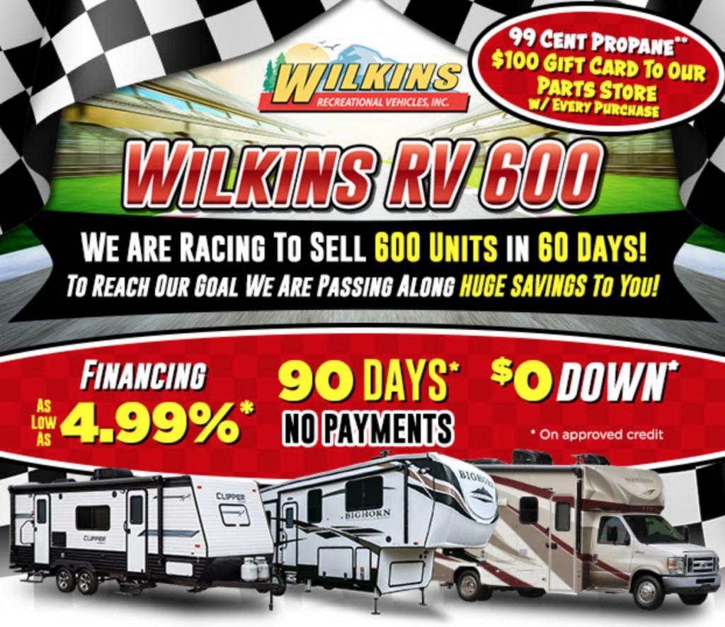 Wilkins RV 600 RV Sale