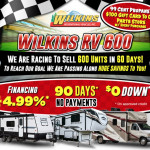 Wilkins RV 600 RV Sale
