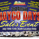 Jayco Days Sales Event
