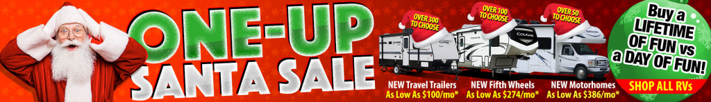 One Up Santa Sale