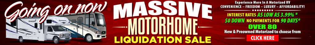 Motor Home Liquidation Sale