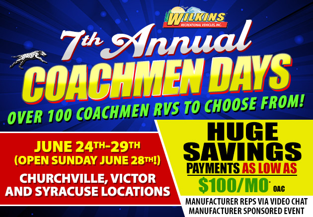 Coachmen Days Event