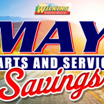 May RV Parts and Service Sale