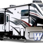 Grand Design Momentum M-Class Fifth Wheel Toy Hauler