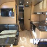 Airstream Flying Cloud 30 Bunk Travel Trailer interior