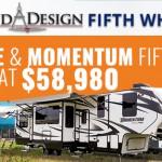 Grand Design Fifth Wheel Sale