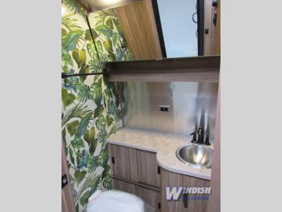 Airstream Tommy Bahama Travel Trailer Bathroom