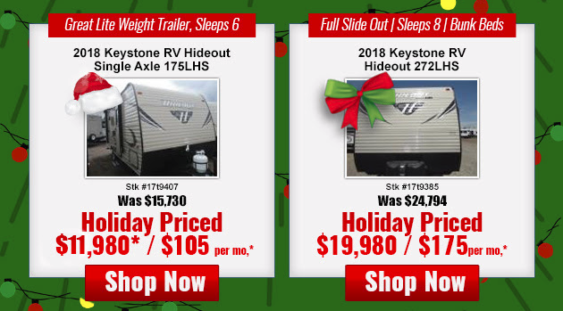 Windish RV Best Christmas Present Hideout Travel Trailer