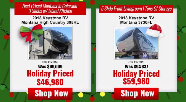 Windish RV Best Christmas Present Montana Fifth Wheel