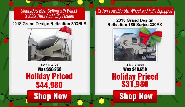 Windish RV Best Christmas Present Reflection Fifth Wheel
