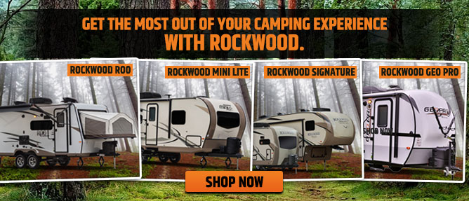 Forest River Rockwood Fifth Wheels and Travel Trailers