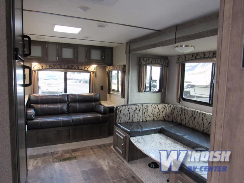 Keystone Passport Ultra-Lite Grand Touring Travel Trailer Interior