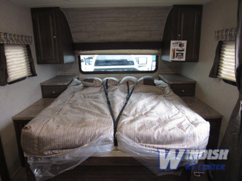 Forest River Rockwood Mini Lite Travel Trailer Murphy Bed Down