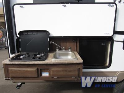 Forest River Rockwood Mini Lite Travel Trailers Outdoor Kitchen